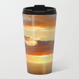 Irish Sea - Heavy Skys (Digital Art) Travel Mug