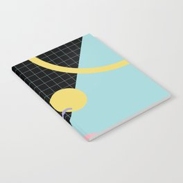 Memphis Pattern 7 - 80s - 90s - Retro Notebook