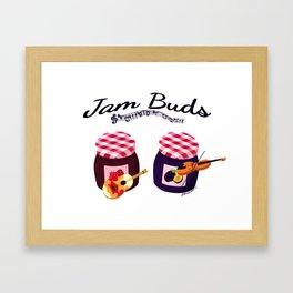 Jam Buds Framed Art Print