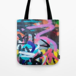 Street Art Graffiti Photography by Dominic Joyce Tote Bag