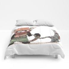 Panda Roux Barbare Comforters