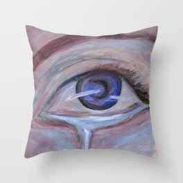 Cool Sorrow Throw Pillow