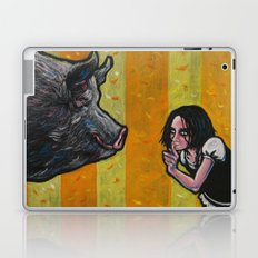 Shh, piggy! Laptop & iPad Skin