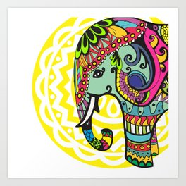 ELE-PHANT Art Print