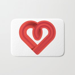 In the name of love Bath Mat