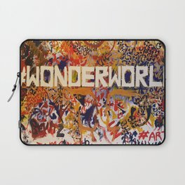 #Wonderworld Laptop Sleeve