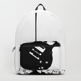 Bubbling Musical Notes Backpack