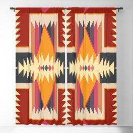 Navajo Pattern Three Blackout Curtain