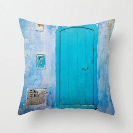 Another magic door Throw Pillow
