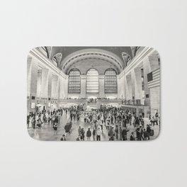 Grand Central Terminal monochrome Bath Mat