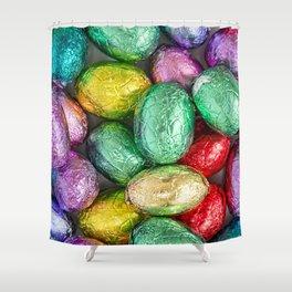 Easter Eggs II Shower Curtain