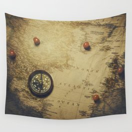 Destinations Wall Tapestry