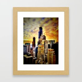 Chicago Fire Framed Art Print