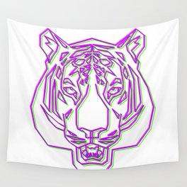 Tiger Rave Wall Tapestry