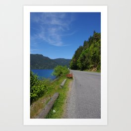 The Road to Paradise Art Print