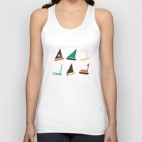 boats Tank Tops featuring Boats by CaptainChrisP