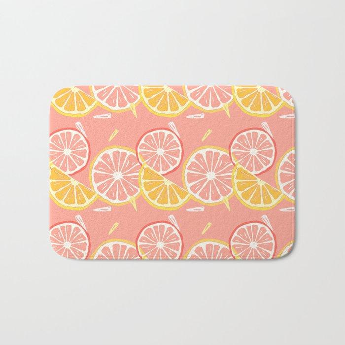 Fruit Slices Bath Mat