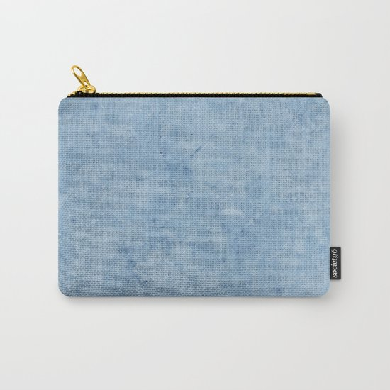 Lento blue marble Carry-All Pouch