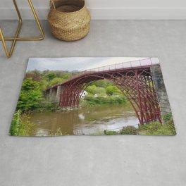 The Iron Bridge  Rug