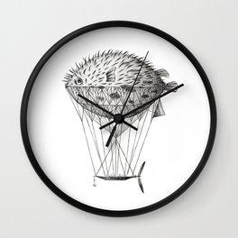 Airfish Express Wall Clock