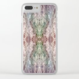 Tourmaline Dream Clear iPhone Case