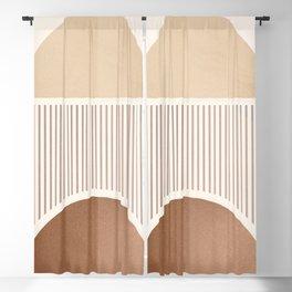 Minimal Geometric Shapes 94 Blackout Curtain