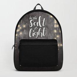 Be The Salt & Light Backpack