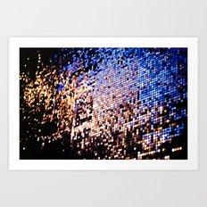 glitter 01 Art Print