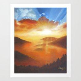 Awakening in Nature Art Print