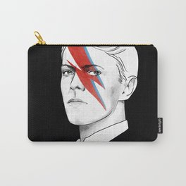 The thin white duke - David Bowie illustration portrait Carry-All Pouch