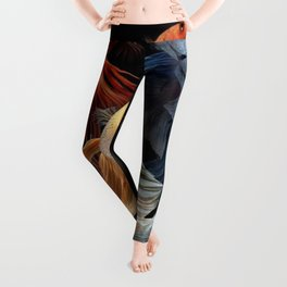 BEAUTIFUL BETA FISH Leggings