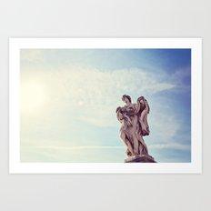 Roman Angel I Art Print