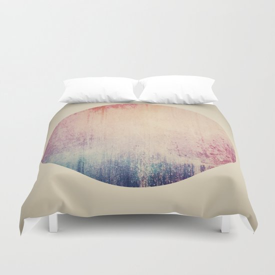 Circles or Squares Duvet Cover