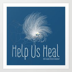 Help Us Heal - Hurricane Sandy Relief Art Print