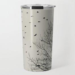 Come On Home - Graphic Birds Series, Plain - Modern Home Decor Travel Mug