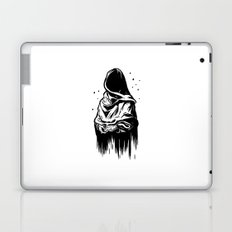 Time (Black and White) Laptop & iPad Skin