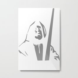 Obi Wan Kenobi Metal Print