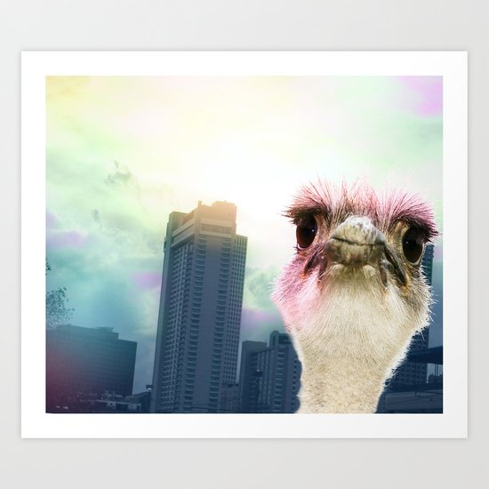 Ostracized in the City Art Print