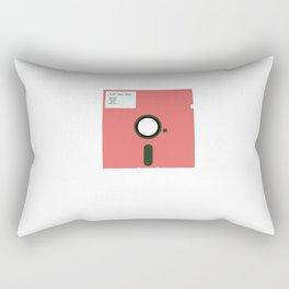 RETRO FLOPPY DISCS Rectangular Pillow