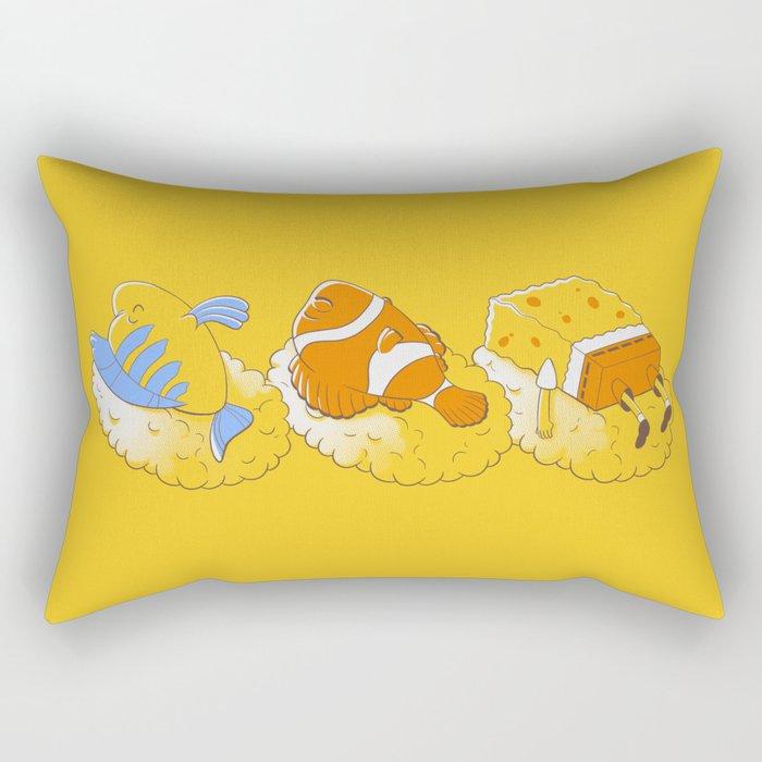 Feeling like sushi :) Rectangular Pillow