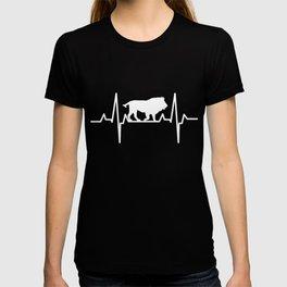 Lion Heartbeat Panthera Leo T-shirt