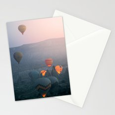Balloons over Cappadocia Stationery Cards