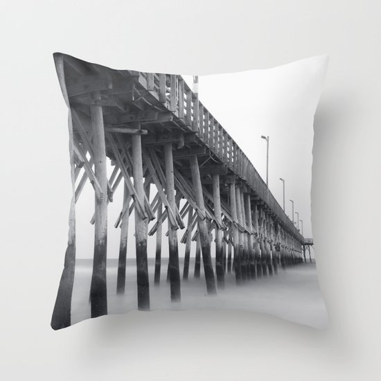 Pier IV Throw Pillow