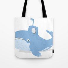Whale Sub Tote Bag