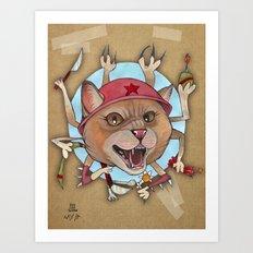 Kitty Kitty Art Print
