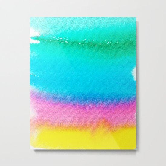 Rainbow #society6 #decor #buyart Metal Print