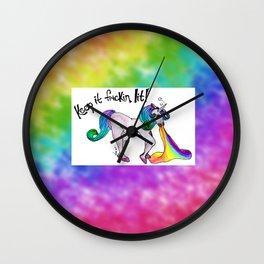 Unicorn Mandate Wall Clock