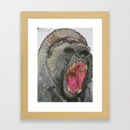 GRRR-ILLA Framed Art Print