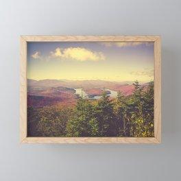 Autumn in the Adirondack Mountains Framed Mini Art Print