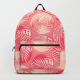 Pink Tropical Coins Backpack